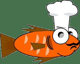 goldfish feeding