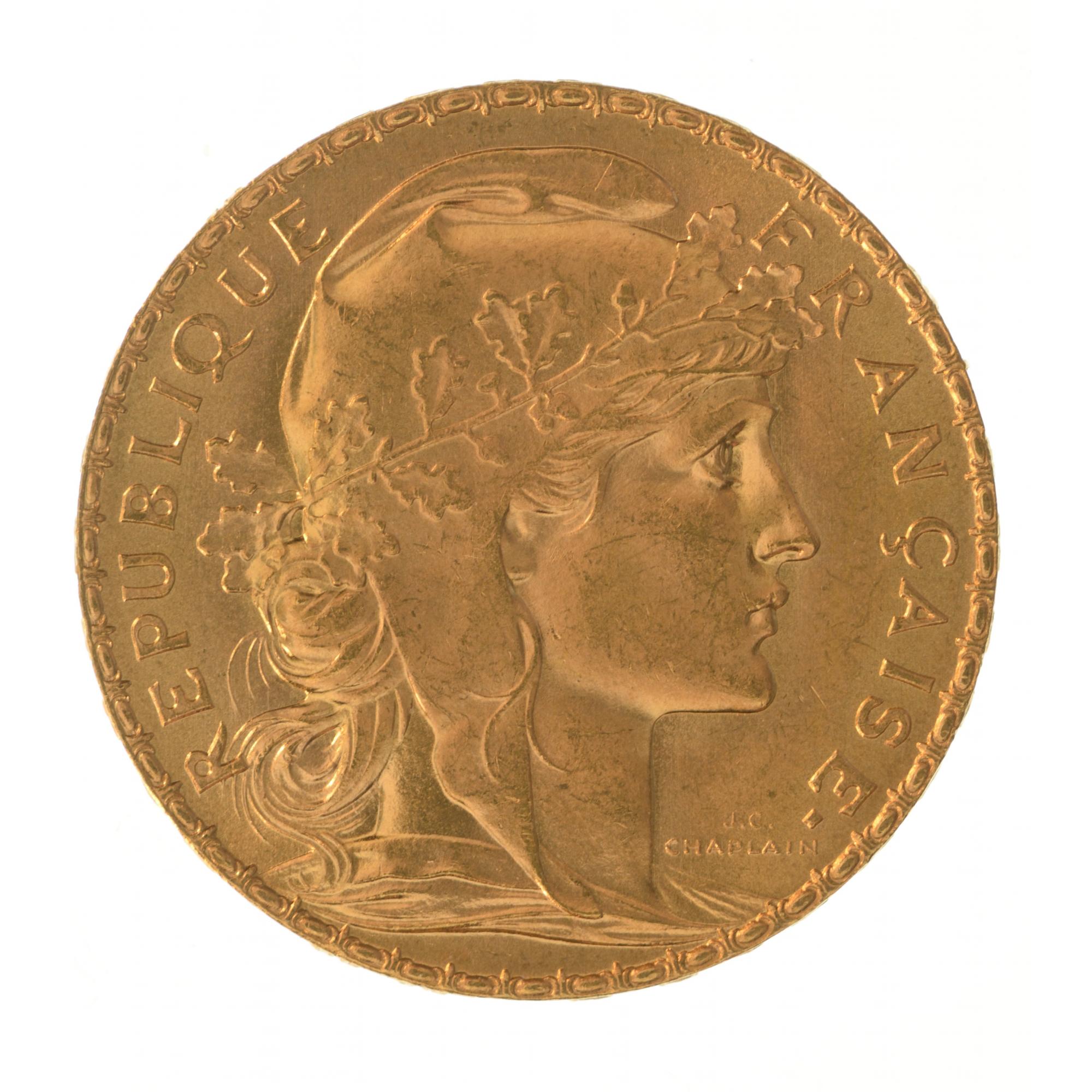 napoleon 20 francs cours de l or