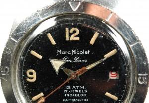 Marc Nicolet Uhr Tritium