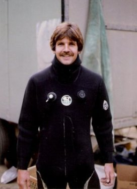 Jim in dry suit
