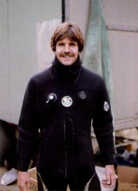 Jim in dry suit