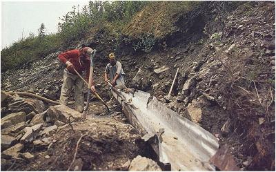 Sluicing in Alaska