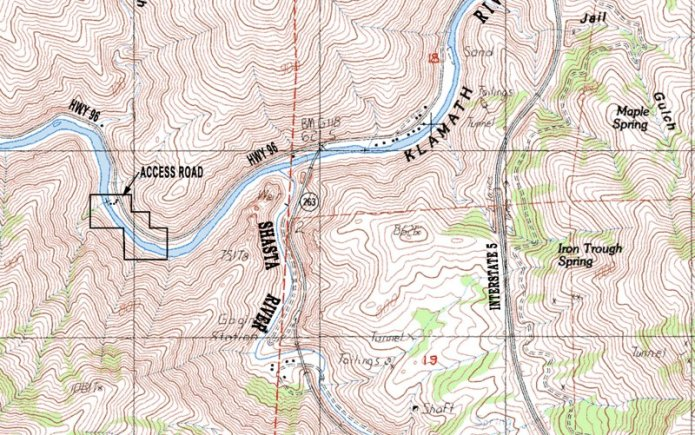 Uk-4 Topographical Map