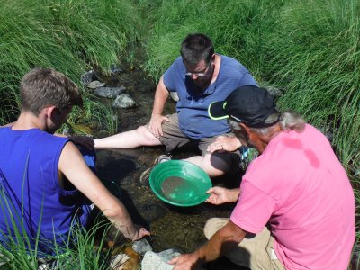 gold panning-lesson