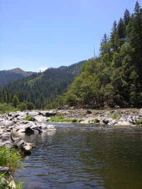 Klamath River at Happy Camp