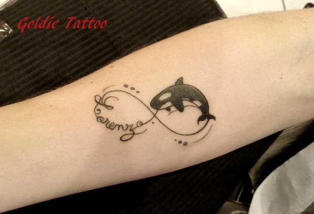 Critures Amp Symboles Goldie Tattoo