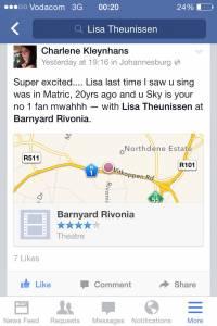 Barnyard Theatre South Africa 2014