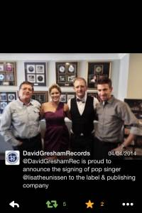 Lisa Goldin, David Gresham Records Signing 04/04/2014