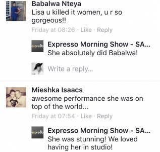 #ThisIsMyFire Babalwa & Miesha #ExpressoShow