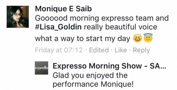 #ThisIsMyFire Monique #ExpressoShow