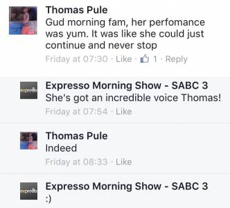 #ThisIsMyFire Thomas #ExpressoShow