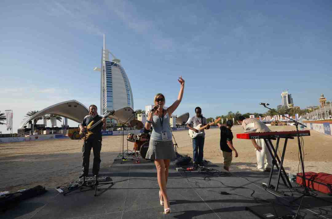 UAE 2011-2013 Julius Baer Polo Cup 2013 Soundcheck