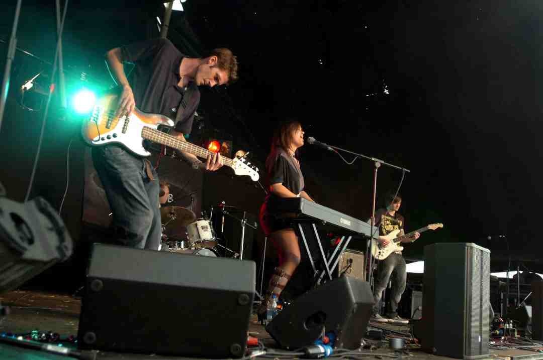 Surrey Advertiser Stage, Guilfest 2008, UK