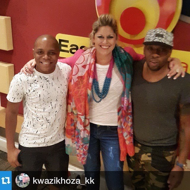 East Coast Radio Interview with Bongani Mtolo & KK