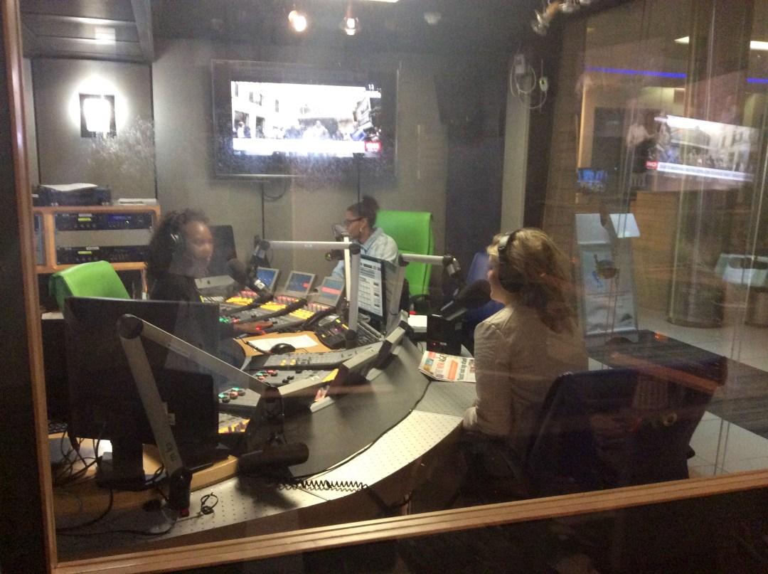 Lisa Goldin with Bertha Charuma on Radio 2000 Interview 7 August