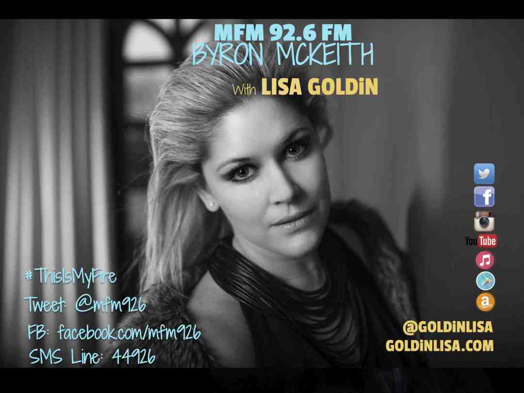 Lisa Goldin - MFM, 7th October