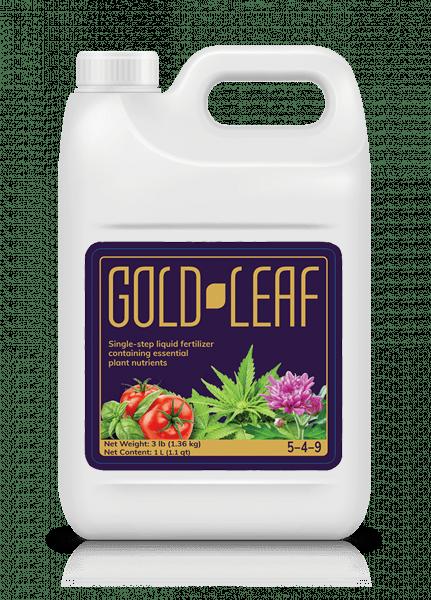 Gold Leaf Hydroponics bottle