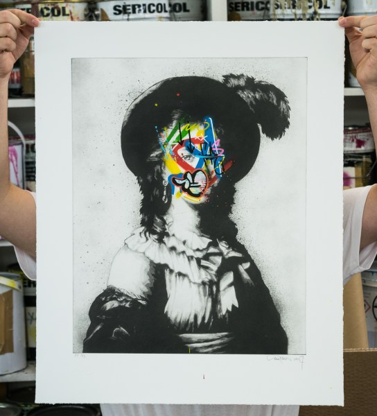 Martin Whatson - Feather - Hand finished photo-etching - 2017