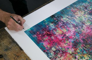 Cenote - Mr Jago - 28 layer screenprint