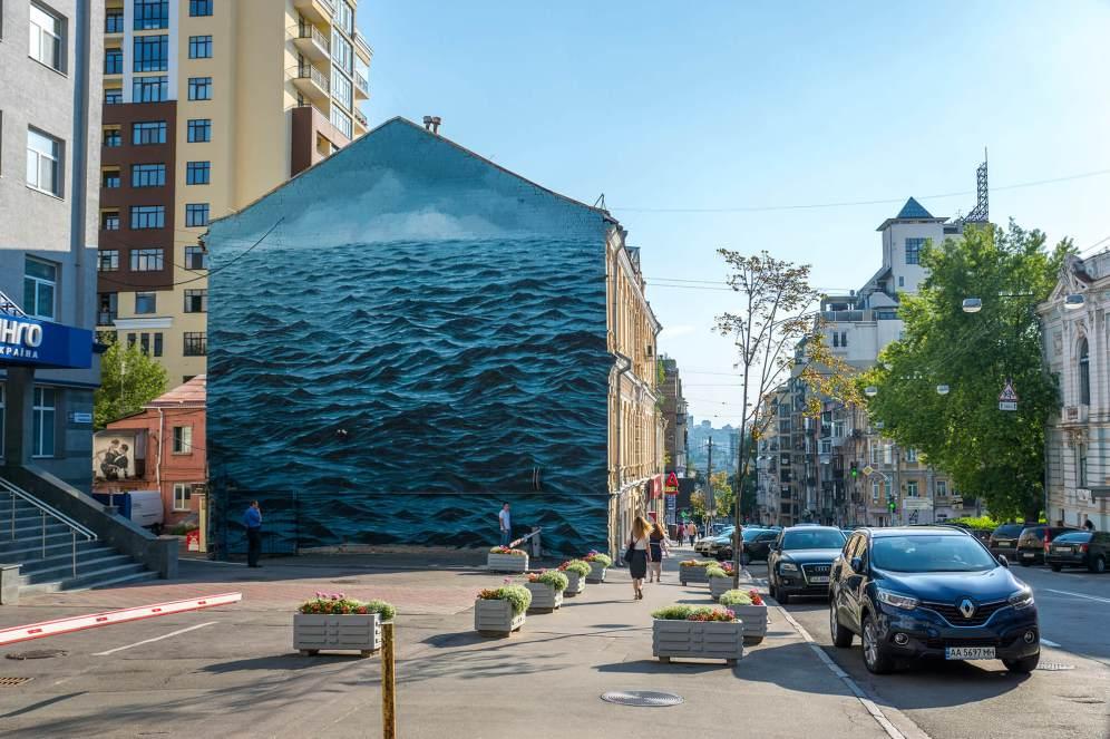 Jake Aikman, Art United Us, Kiev, 2017 - Photo: Iryna Kanishcheva