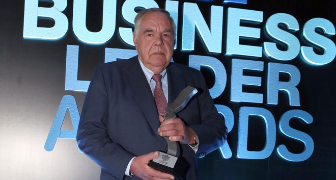 Captain Heinrich Schoeller Honoured at Business Leader Awards