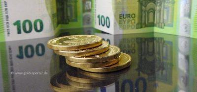 Gold, Goldpreis, Euro (Foto: Goldreporter)