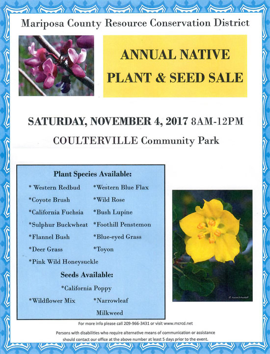 Mariposa County Resource Conservation District Hosts ...