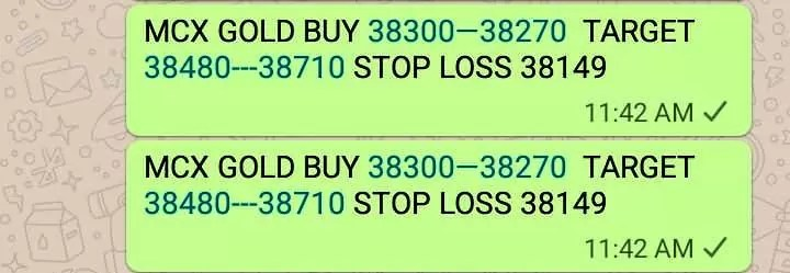 MCX Gold Trading Tips Today