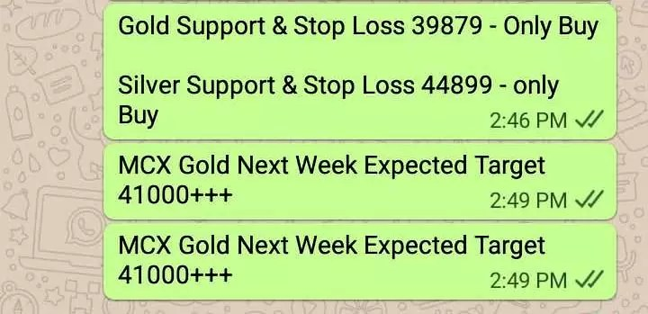 Gold Silver Trading Tips