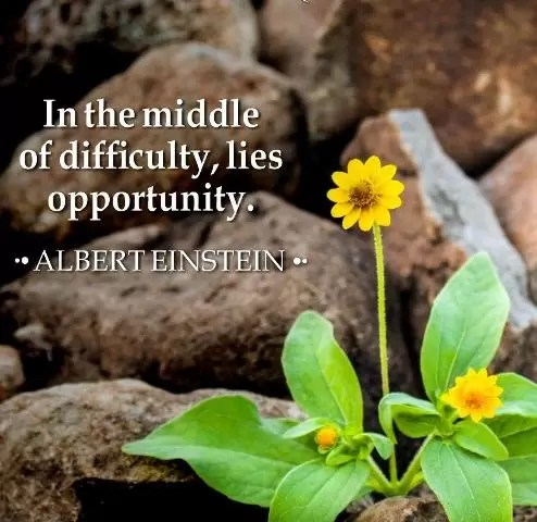 In The Middle of Difficulty, Lies Opportunity via @goldsilverrepor