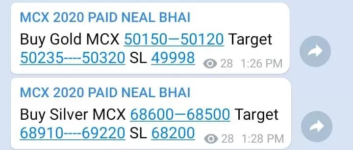 Intraday MCX Gold Tips