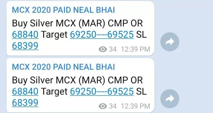 Silver MCX Tips for Today