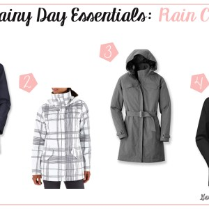 Rainy Day Essentials: Rain Coats