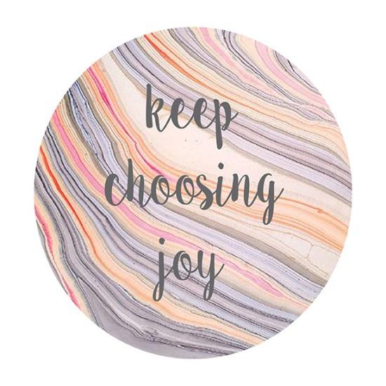 Gold Standard Workshop Free Printable: Keep Choosing Joy