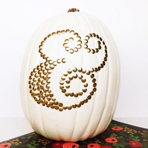 DIY Thumbtack Pumpkins: Gold Standard Workshop