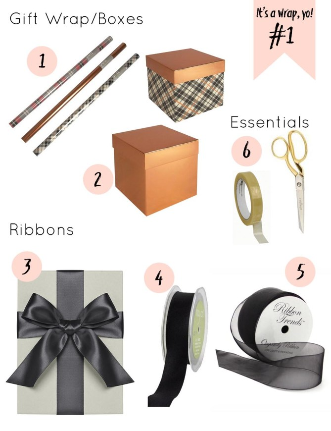Weekly Wrapping Tips: Copper Tones for Fall and Masculine Gifts--Gold Standard Workshop