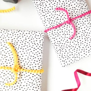Wrap It Wednesday: Speckled Dots by Gold Standard Workshop