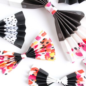 DIY Paper Bows by Gold Standard Workshop