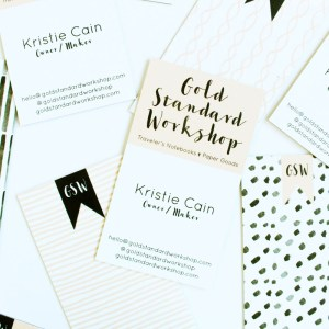 GSW Business Cards and Moo Review by Gold Standard Workshop