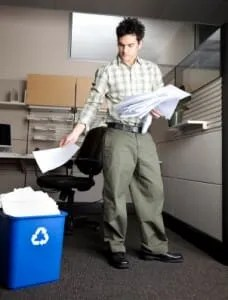 Organizing your files can help clamp down on clutter (istockphoto)