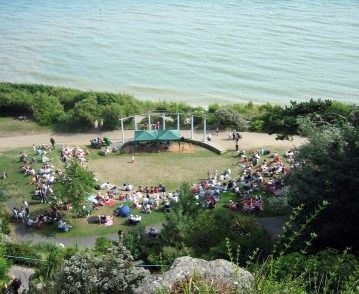 Amphitheatre, Lower Leas Coastal Park, Folkstone, Kent