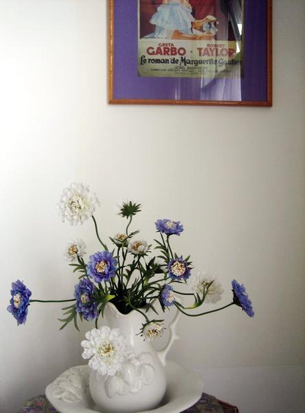 flowers at Douglas Avenue B&B, Hythe, Kent