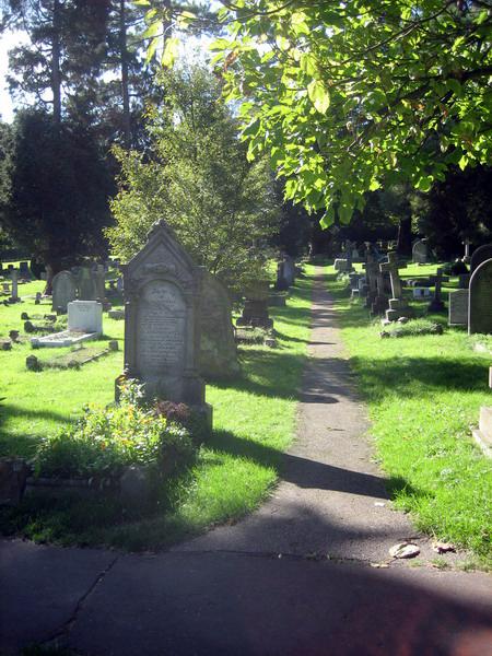 Gypsy Rose Lee's gravestone, Farnborough, Kent