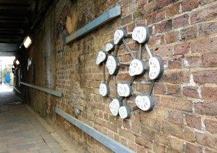 Sponge Fossil - 7 Bridges public art project Loughborough Junction