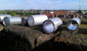 hand finished tubes; I polished the edges by hand sat on my balcony!