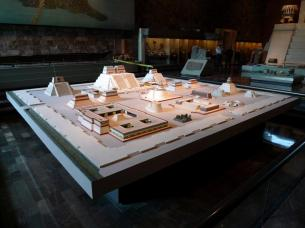 Model of Tenochtitlán / Templo Mayor