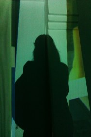 Me in Kim Coleman & Jenny Hogarth's video installation, Jerwood Gallery