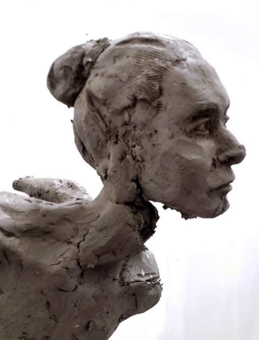 Magda, torn clay