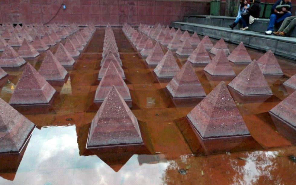 The sunken pool