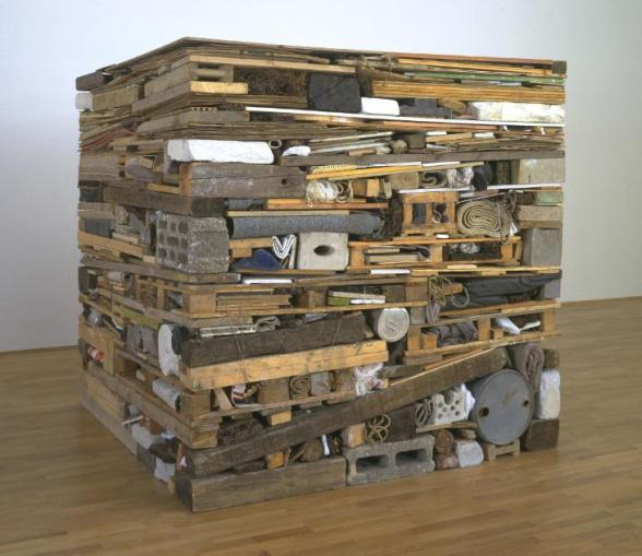 Stack 1975 Tony Cragg born 1949 Purchased 1997 http://www.tate.org.uk/art/work/T07428